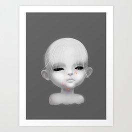 Little Broken Doll Art Print