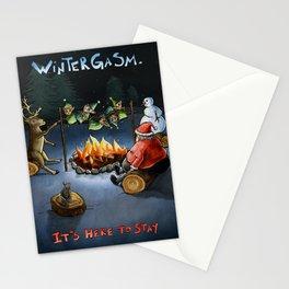 Wintergasm Stationery Cards