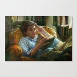 Literature Canvas Print