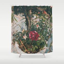 Simple garden Shower Curtain