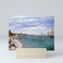 Claude Monet Regatta at Sainte-Adresse Mini Art Print