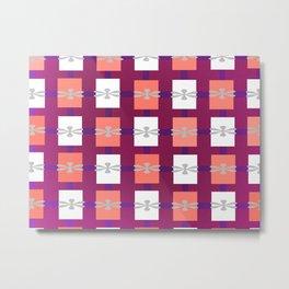 Ajo blanco pattern Metal Print
