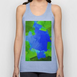 Forest lake Unisex Tank Top