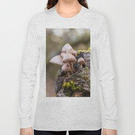 Mushrooms on tree Long Sleeve T-shirt