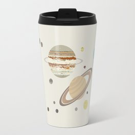 The Solar System - Planets, Moons, and Dwarf Planets Travel Mug