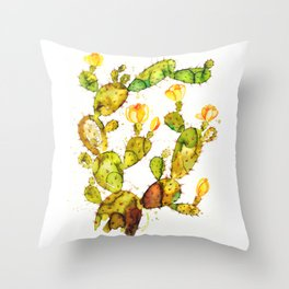 Cactaceae Throw Pillow