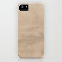 Burst of Color Pantone Hazelnut Abstract Watercolor Blend iPhone Case