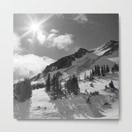 Bright Sun over Loveland, Colorado Metal Print