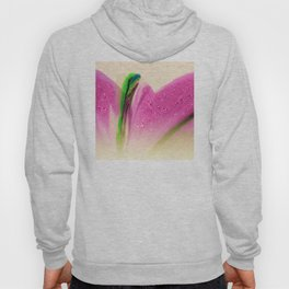 Pink Mermaid Tail Abstract Graphic Design Hoody
