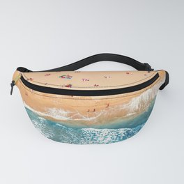 Summer Colors | Aerial Beach Fanny Pack