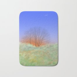 Trees at Sunset Bath Mat