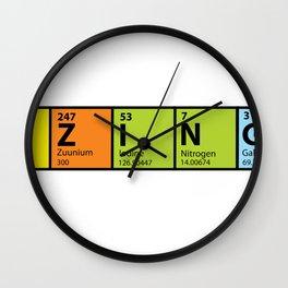 Bazinga Periodical Wall Clock
