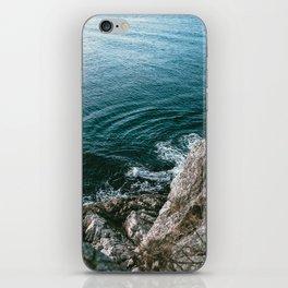 Look Down iPhone Skin