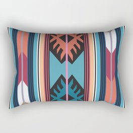 American Native Pattern No. 55 Rectangular Pillow