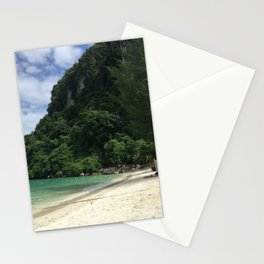 Phi Phi Island Beach, Thailand Stationery Cards