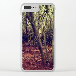 Waking up Clear iPhone Case
