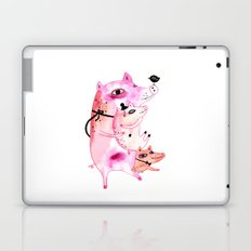 Three and Free Little Pigs Laptop & iPad Skin