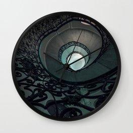 Pretty Ornamented Staircase Wall Clock