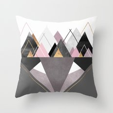 Nordic Wilderness Throw Pillow