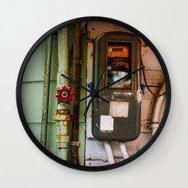 okinawa meter Wall Clock
