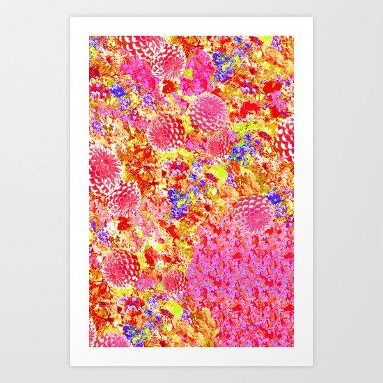 Daisies for Mum Art Print