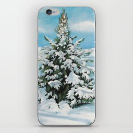 The Day After Snow Scene Art iPhone Skin