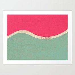 Ipanema Art Print