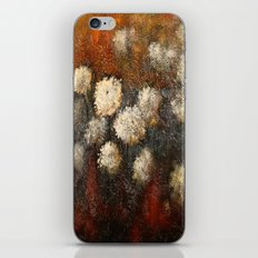 Golden Blossoms iPhone & iPod Skin