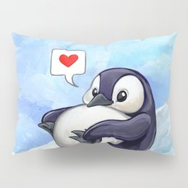 Roly Poly Penguin Pillow Sham