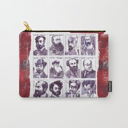 Portraits of artists Carry-All Pouch