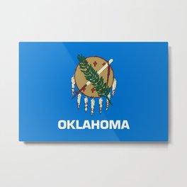 Flag of Oklahoma Metal Print
