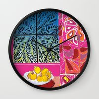 matisse Wall Clocks featuring Matisse version by bbay