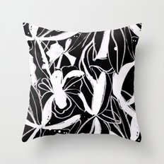 Snowy Forest II Throw Pillow