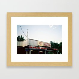 One Stop Shop Framed Art Print