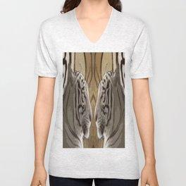 Tiger reflection Unisex V-Neck