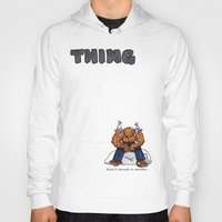 the thing Hoodies featuring Thing by ToppArt