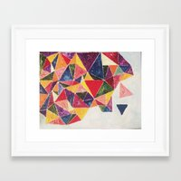 oil Framed Art Prints featuring Oil by Ameliamiller