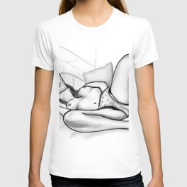 How to Love Yourself b&w T-shirt
