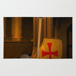 Time of the Templars Rug