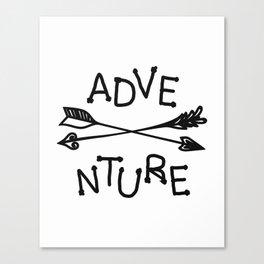 Adventure Nursery Art Canvas Print