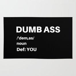 Dumb Ass Definition Rug