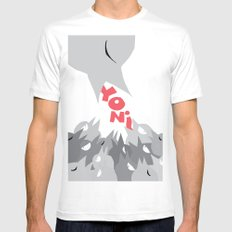 Yoni 2010 Feeder White MEDIUM Mens Fitted Tee