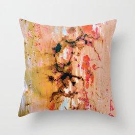Rusted Through Throw Pillow
