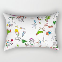 Grape bubbles Rectangular Pillow