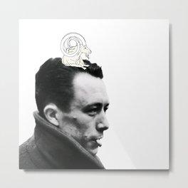 Camus and Mountain Goat Metal Print