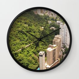 Landscape Photography by alex lau Wall Clock