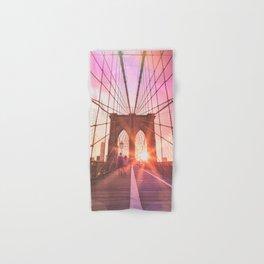 NYC Brooklyn Bridge Hand & Bath Towel