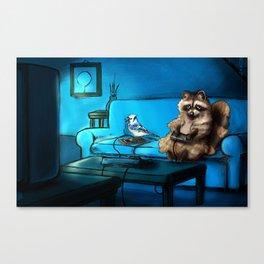 Regular Animals Canvas Print