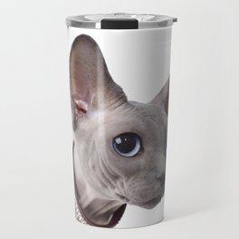 Canadian sphinx cat Travel Mug
