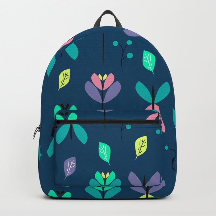 Floral night Backpack